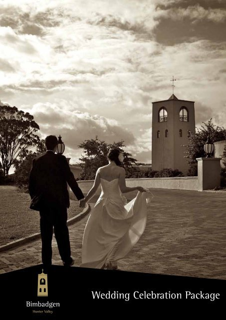 Wedding Celebration Package - Bimbadgen Estate Winery