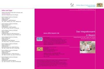 Das Integrationsamt - Zentrum Bayern Familie und Soziales - Bayern