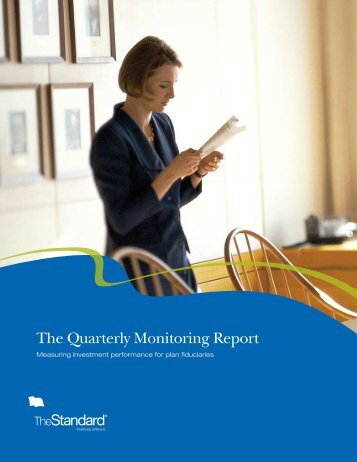 The Quarterly Monitoring Report - The Standard