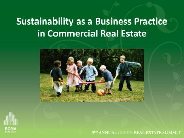 Best Practices in Commercial Real Estate Presentation