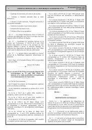 Décret exécutif n° 03-279 du 24 Joumada Ethania 1424 ...