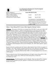 PIH-2010-23 VASH PBV NOTICE 6-23-2010 - HUD