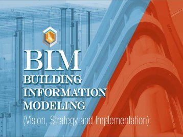 Creating high-performance buildings and infrastructure with BIM