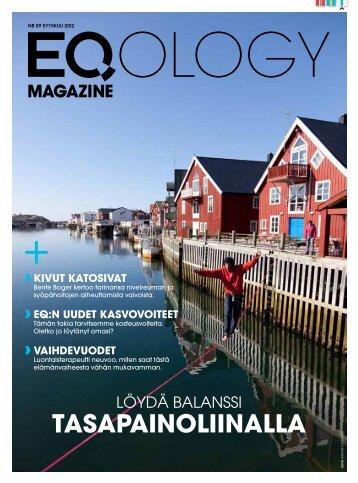 eq magazine syyskuu - Eqology