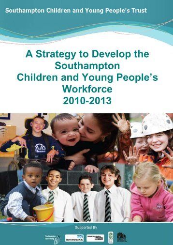 Proposed structure for the Children and Young People's Workforce ...