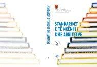 Standardet e të Nxënit dhe Arritjes 2.pdf - Instituti i Zhvillimit te Arsimit