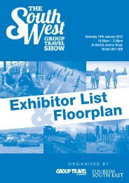ORGANISED BY - South West Group Travel Show