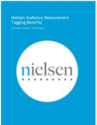 Nielsen Tagging Benefits Guide