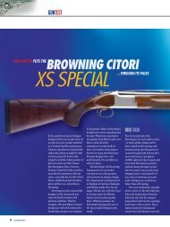 browning citori xs special - Clay Shooting USA