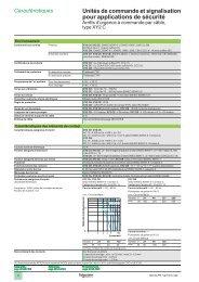 Unités de commande et signalisation pour ... - Schneider Electric
