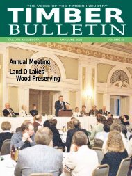 Timber Bulletin May/Jun - Minnesota Forest Industries