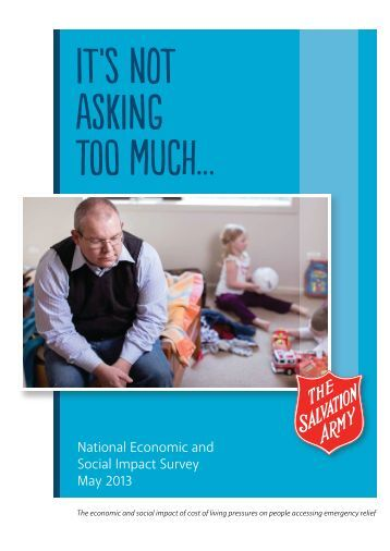 The Salvation Army report - NWHN