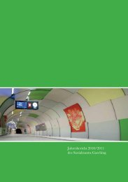 Jahresbericht 2010/2011 des Sozialraums Garching - KJR Garching