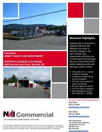 Business Highlights - NAI Commercial
