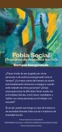 Fobia Social (Trastorno de Ansiedad Social): Siempre ... - NIMH