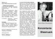 KONZERTANTE BLASMUSIK - Orlando-Musikverlag