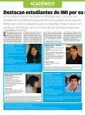 Alcanzan altas notas estudiantes de IMI - Mi Campus Santa Fe - Page 2