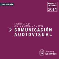 Folleto + Malla Curricular - Universidad de los Andes - Admisión