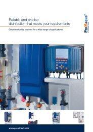Brochure - Chlorine Dioxide - ProMinent