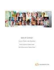 The Web of Science SM - Acceso a la Web of Knowledge