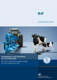 Die R+V-AgrarPolice - VR-Bank Aalen eG