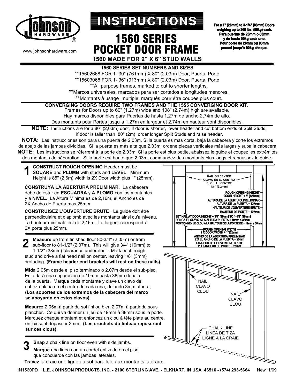 Glamorous Johnson Pocket Doors Rough Opening Contemporary - Ideas ...