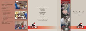 training school brochure.ai - Mintek