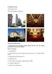 Lincoln, St Hugh - Diocese of Nottingham