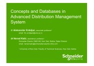 Concepts and Databases in Advanced Distribution ... - Cnr -cme