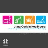 Using Carts in Healthcare: a resource guide for reducing ... - Asstsas