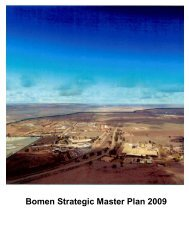 Bomen Strategic Master Plan 2009 - Business Wagga Wagga