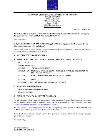 Form b declaration by tenderer contracting party for B b contract