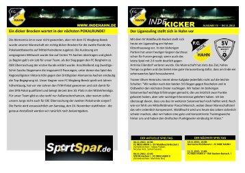 SV Waldfeucht-Bocket (04.11.2012 - FC Inde Hahn