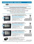 CONVECTION OVENS - Cadco, Ltd - Page 3