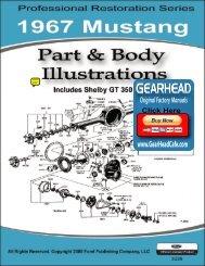 DEMO - 1967 Mustang Part & Body Illustrations - ForelPublishing.com