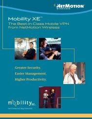 Mobility XE™ - BarCode ID Systems