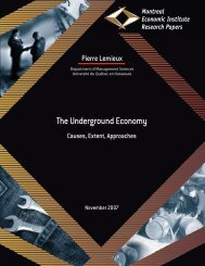 The Underground Economy - Causes, Extent, Approaches - IEDM