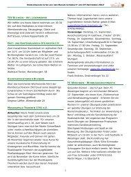 Vereinsnachrichten 070912.pub - Gemeinde Bisingen