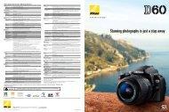 Nikon D60 Brochure