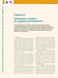 Capítulo I Introdução à análise de resposta em frequência