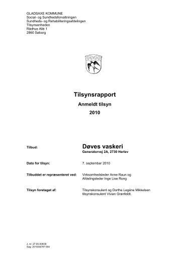 Tilsynsrapport Døves vaskeri - Center for døve