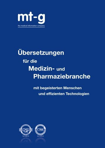 PDF, 2,63 MB - Medical Translation GmbH