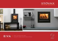 Riva, Open Convector Fires - Country Cottage Stoves
