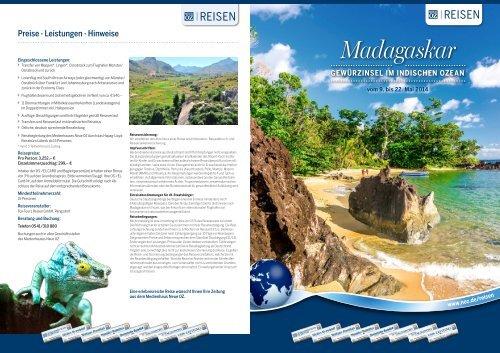 Madagaskar - Hapag-Lloyd Reisebüro Lübeck