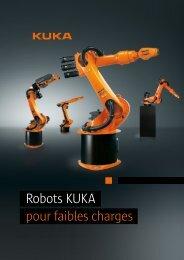 Robots KUKA pour faibles charges - KUKA Robotics