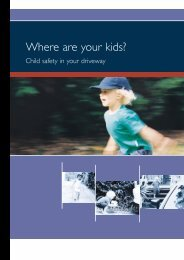 Where are your kids? - NRMA