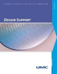 Design Support - UMC