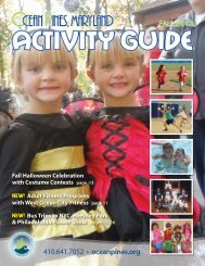 2012 Fall Activity Guide - Ocean Pines Association