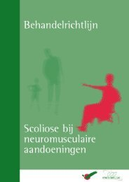 Scoliose bij neuromusculaire aandoeningen - Diliguide