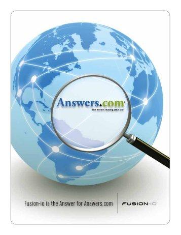 Answers.com® - Fusion-io